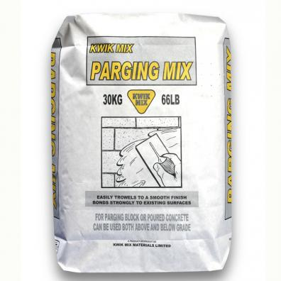 Parging Mix Kwik Mix Just Add Water Simple