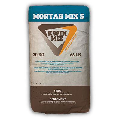Mortar Mix S Bag