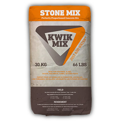 Stone Mix Kwik Mix Just Add Water Simple